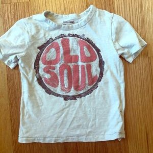 Old soul T shirt GAP 3T